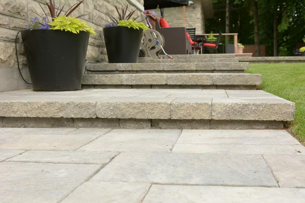 Arnold - Landscaping & Patio Design Project; Featuring Interlocking