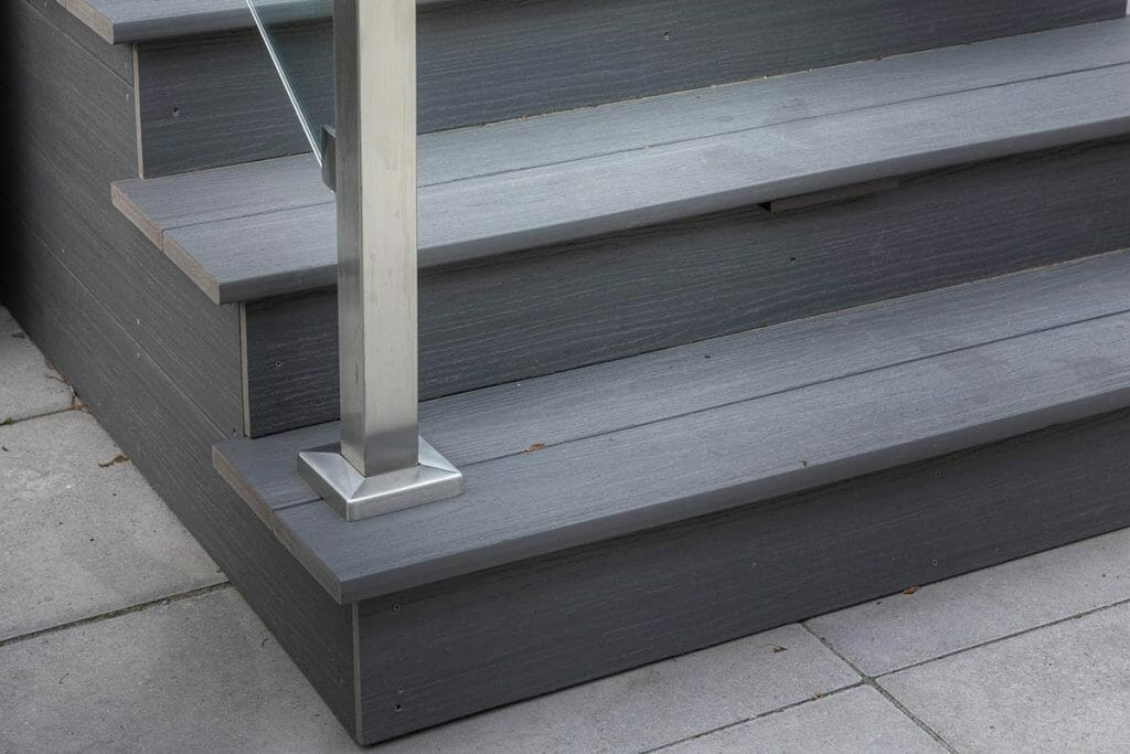 Composite Deck; Featuring Stainless Steel Railing