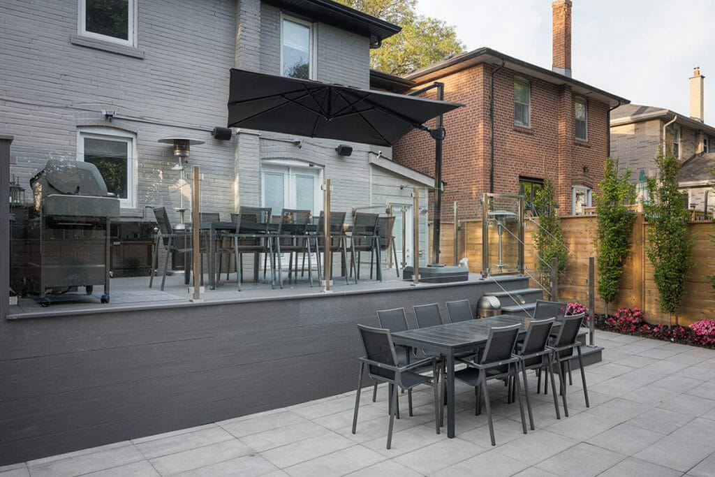Composite Decking Toronto by Toronto Landscaping Company