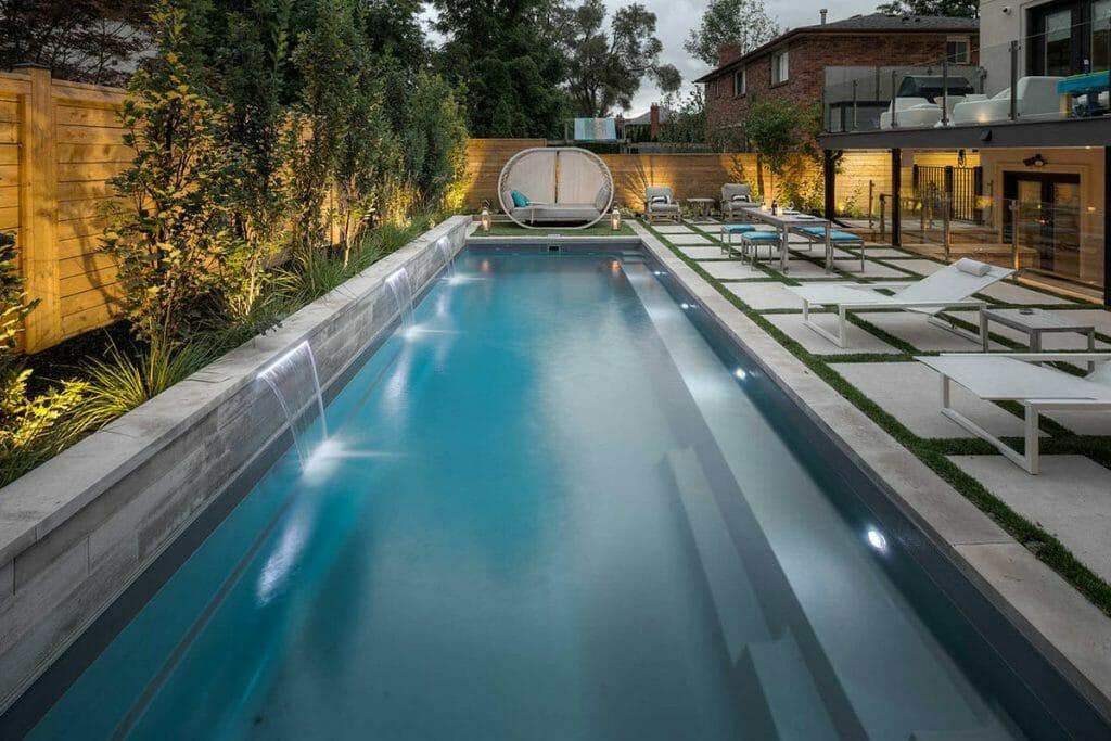 Fiberglass Pools by Toronto Landscaping Company