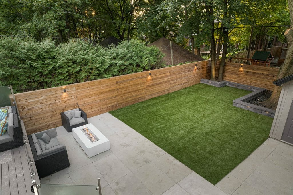 Hillhurst, Toronto Landscaping Company Backyard Landscape Design Project
