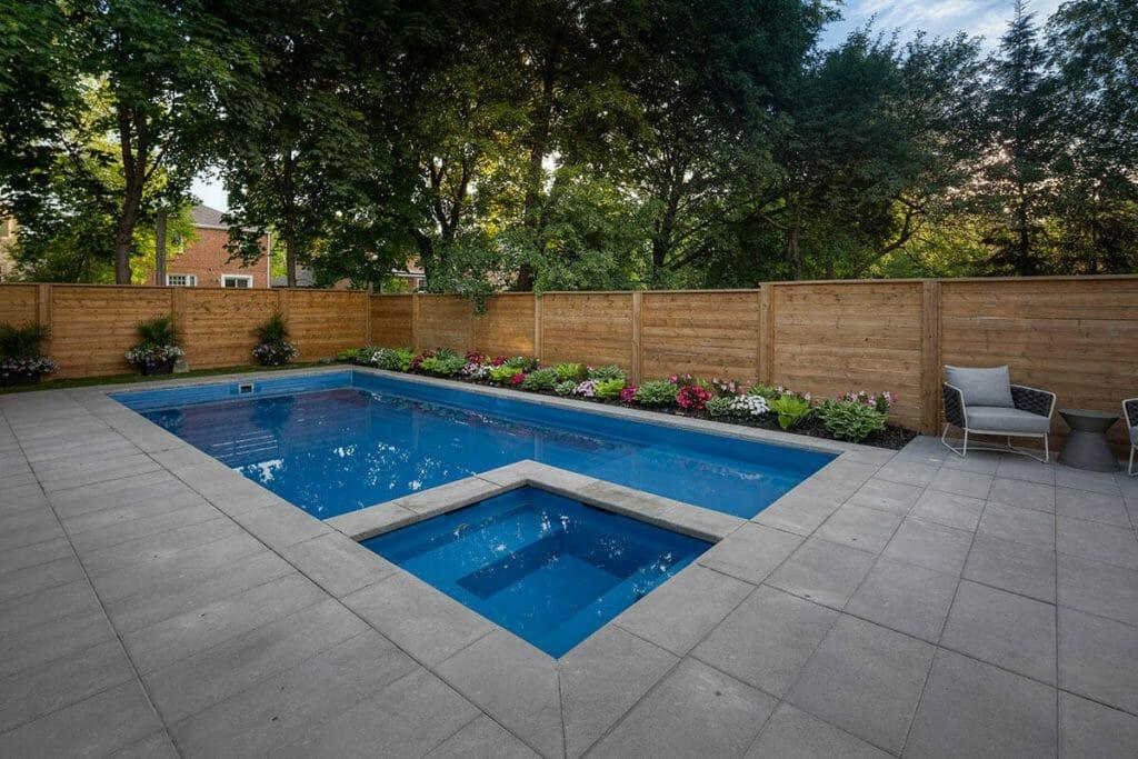 Lyonsgate Landscape Design Project; Featuring Fiberglass Pool Installation