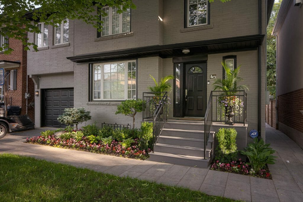 Lyonsgate Toronto Front & Backyard Landscaping Project by M.E. Contracting