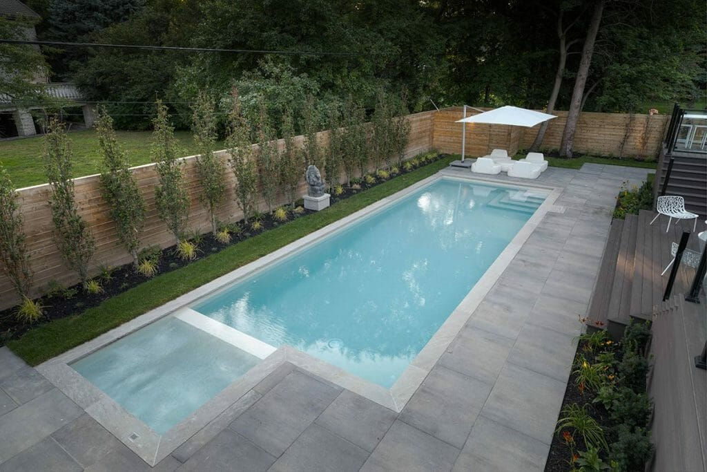 Overview of Toronto Landscaping Project on Pheasant Drive