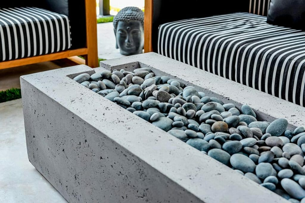 Toronto Landscaping Design Project by M.E. Contracting; Featuring Outdoor Fireplace.