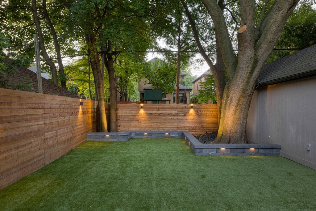 Small Retaining Wall Feature for Hillhurst Project