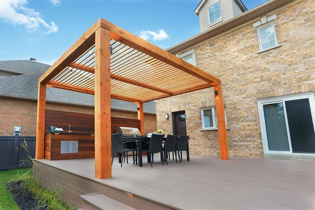 Toronto Decking Company, TimberTech Decking Project by M.E. Contracting.