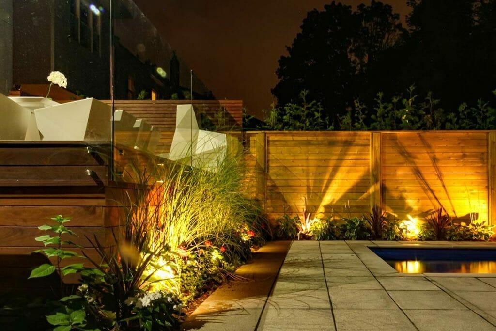 Toronto Decking & Landscape Design Project; Featuring Composite Deck & Frameless Glass Railings