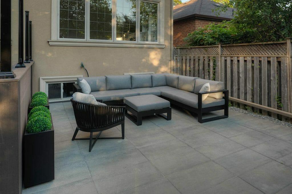 Toronto Patio Design for Small Backyard Project