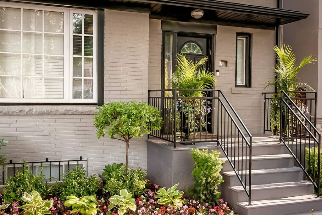 Wrought Iron Railing Installation by Toronto Landscaping Company